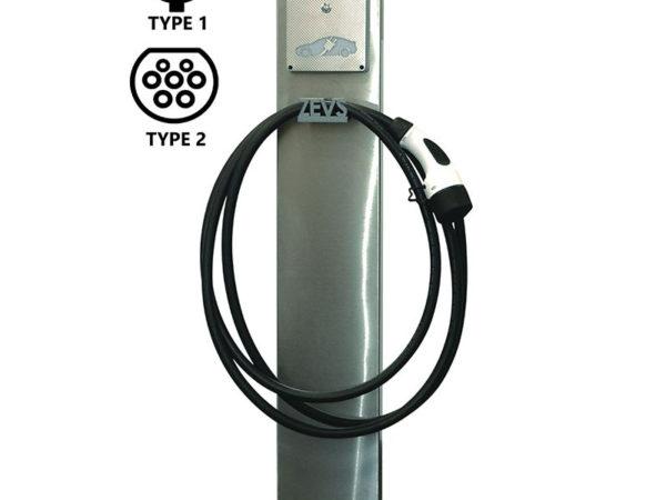 Зарядна станция ZEVS C
